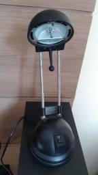 Luminária para lâmpada dicroica
