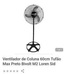 Ventilador coluna 60cm $200,00