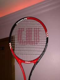 Raquete de tênis + Raquete de frescobol