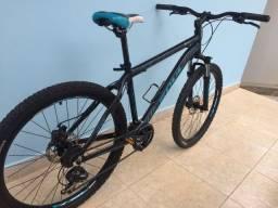 Título do anúncio: Bicicleta mountain bike, tamanho 15 em alumínio, aro 26, 21v, kit shimano tourney