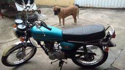 Título do anúncio: Moto CG Bolinha 125. Ano 82