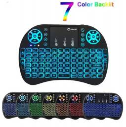 Mini Teclado Wireless Colorido Air Mouse Para Smart Tv/notebook/iPad e Box