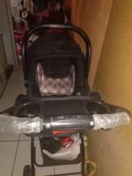 Carrinho de bebê+ bebê conforto