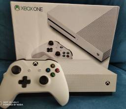 Console Xbox one s 1tb completo + brindes + acessórios + garantia e jogos aceito cartão