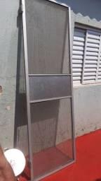 Título do anúncio: Porta Bang bang aluminio