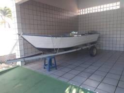 Título do anúncio: Barco Lancha Pety 500 SL