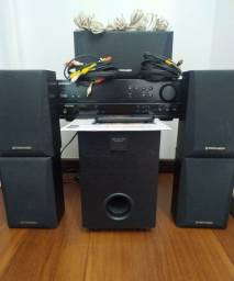 Home Theatre Pioneer Receiver VSX-406 Subwoofer