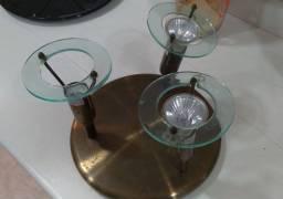Luminária Spot de sobrepor pra lâmpada dicróica