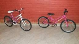 Duas bicicletas aro 20