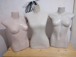 3 manequins femininos 30 Reais!!