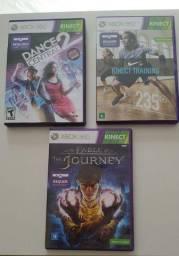 Combo jogos para Xbox 360 Kinect