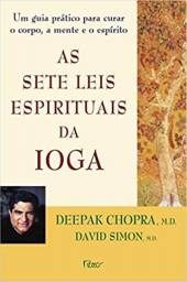 Livro As sete leis espirituais da ioga - Novo e Lacrado