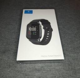 Título do anúncio: Smartwatch Xiaomi Haylou Lacrado mais pulseira milanesa