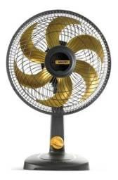 Título do anúncio: Ventilador De Mesa Mallory 30cm 3 Vel - Dourado 110v