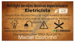 Eletricista comercial , predial e industrial