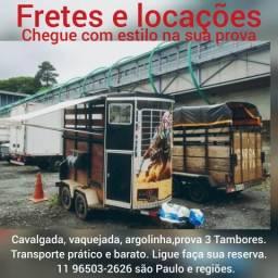 Aluguel de Reboques/trailer para cavalo