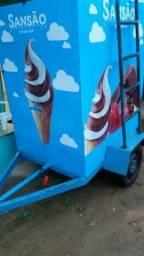 Máquina de sorvete spresso