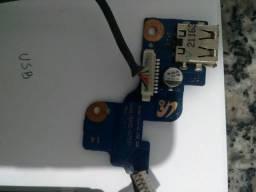 Componentes usados do notebook Samsung rv420