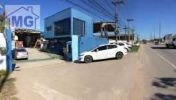 Galpão para alugar, 525 m² por r$ 10.500/mês - barreto - macaé/rj