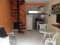 Casa duplex com um quarto junto ao centro de Porto de Galinhas