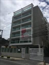 Apartamento com 2 dormitórios à venda, 70 m² por r$ 374.000 - várzea - teresópolis/rj
