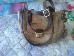Vestido e bolsa