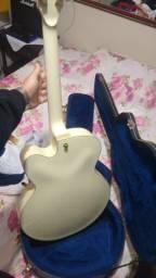 Guitarra semi acústica ibanez com case