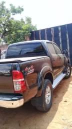 Vendo hilux 2005/6 3.0 diesel completo - 2005