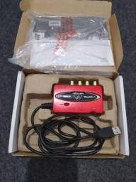 Interface de áudio UCA222