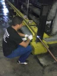 Instalação de Nova Tubulação de Cobre pra Gás