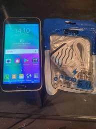 Samsung E7 com NFC para aceitar cartão mumbuca