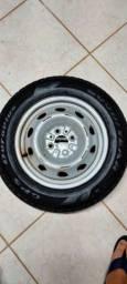 Roda com pneu para Fiat estrada, Palio.