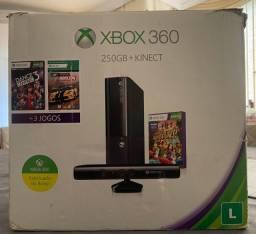 Xbox 360 - Preto - 250G - Destravado