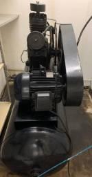 Compressor Fort Msw 40 Pés 425l 10hp 380v Trifásico - Schulz - Usado