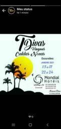 Pacote para Caldas Novas transporte+hotel a partir de R$ 320,00 por pessoa
