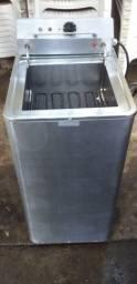 Fritadeira Elétrica Tedesco profissional autolimpante, aço inox