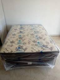 Cama box casal # cama box casal # cama box casal molas bonnel novo ## entrego