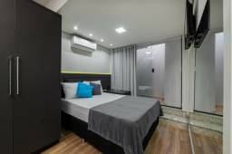 Apartamento mobiliado com serviços