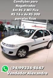 Celta completo valor R$ 6.000,00