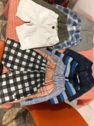 Vendo roupas 3-4 semi nova