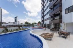 Apartamento alto padrão com 2 quartos e área de lazer de resort