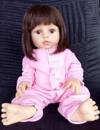 Bebê Reborn Corpo de Silicone Semi-nova