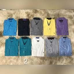 Kit 6 camisas sociais