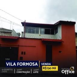 Casa com 12 quartos - bairro vila formosa em anápolis
