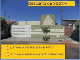 Casa à venda com 2 dormitórios em Jardim planalto, cod:CS2602V