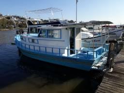 Barco de madeira 10m