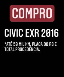 Compro Civic EXR 2016