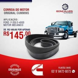CORREIA DO MOTOR ORIGINAL CUMMINS F-350/F-4000 MOTOR MECÂNICO