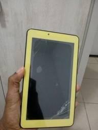Tablet com tela trincada