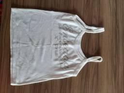 Blusa branca-tamanhoP